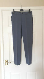 Boys Marks and Spencer Autograph Blue Trousers - BRAND NEW