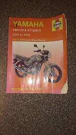 Ybr 125 and xt125r/x service and repair manual