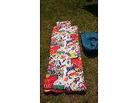 Childs sleeping bag for sale.