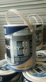 175 litres of Masonery Paint.