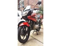 Mint Condition HPI Checked Red Honda CBF125