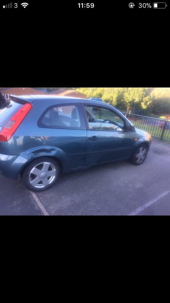 Feista zetec 1.4 petrol low miles NO TIME WASTERS ££450 BARGAIN
