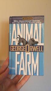 50th Anniversary Edition/ Hard Back: Animal Farm