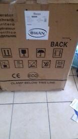 Swan integrated fridge
