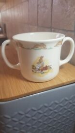 Royal Doulton BUNNYKINS double handed mug