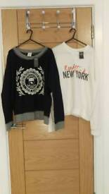 Brand new Abercrombie and Fitch Jumper x 3 with Tags size M