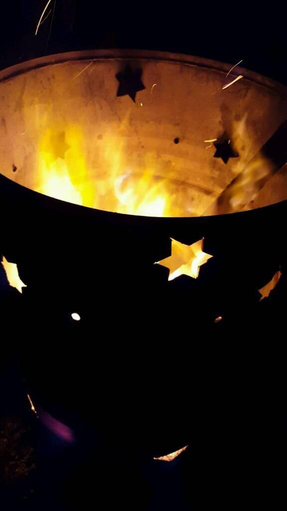 Bonfire night fire bin