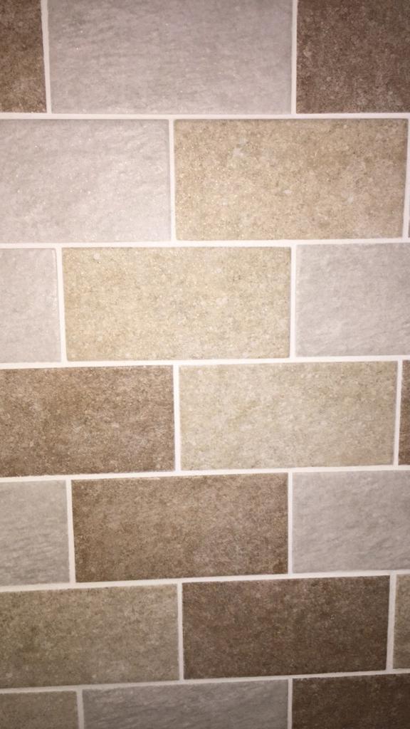 Metro Kitchen Wall Tiles White Cream Brown Beige