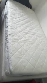 Single mattress almost new