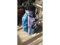 Full set of golf clubs - Memphis MTG - I Oversize graphite golf clubs - 4 iron to SW