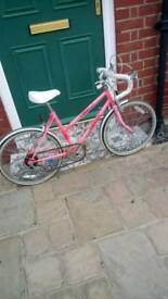Girl small racing bike 5 gear 1979 excellent condition original gwo ride away super buy