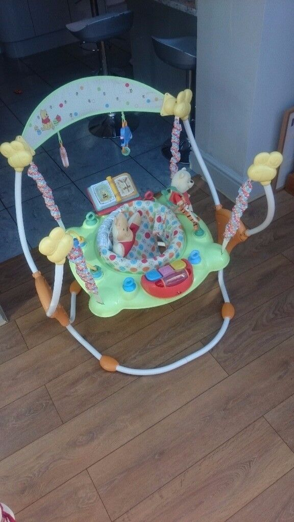 bd90ef603258 Winnie the Pooh baby bouncer jumperoo for sale