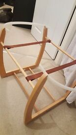 Mamas and papas moses basket holder for sale