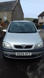 Vauxhall Zafira Design 16v Automatic 2004