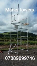 Scaffolding towers for sale ideal for builders , home DIY