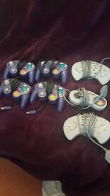 Retro control pads offical gamecube unofficial snes