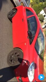 Vauxhall corsa 2008 expression, 1 litre red