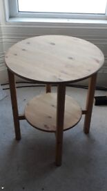 Round, Wooden Ikea Coffee Tables