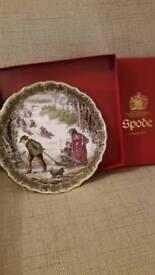 Christmas Decorative China Plate
