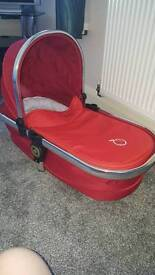 Icandy peach main carrycot in tomato