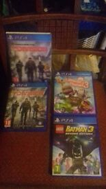PS4 GAMES /all games are good as new / £20 each or all 3 games for £50 or swaps are welcome