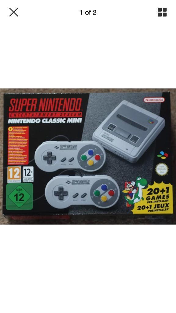 Super Nintendo Entertainment System Mini Classic
