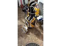 Golden bear golf set