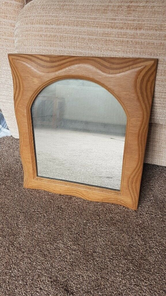 Small Wooden Framed Mirror In Locks Heath Hampshire Gumtree