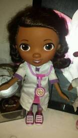 Talking singing doc mc stuffing doll expensive to buy
