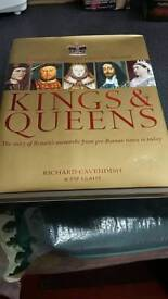 Kings & Queens by Richard Cavendish & Pip Leahy