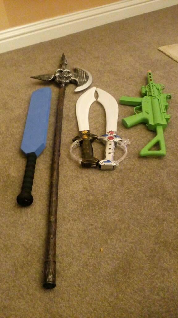 Swords and gun bundle