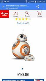 Starwars bb8 massive droid rrp £200
