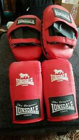 Boxing and sparing gloves