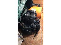 Hyosung GT 125 Engine