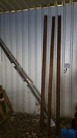 RSJ Lintel Girder Steel Beam 9 foot 18 inch long and 3 by 3 inch