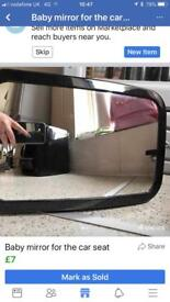 Mirror for the car