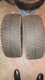 "2 x 17"" Nexen WINguard 215/55/17 winter snow tyres"