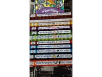 11 x diary of a wimpy kid books, excellent condition, ideal christmas gift