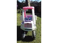 Little tikes princess car