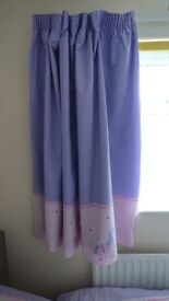 Girls Bedroom set, curtains, rug, sheet, curtain pole,bookcase,Lampshade etc