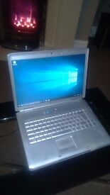 Dell Inspiron 1520 Laptop - Lime Green Lid, Win10 Pro, Dual Core, 2gb RAM, 160gb HDD, Webcam etc