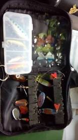 Perch or pike lures x14 in wallet