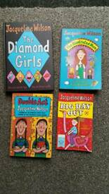 4 Jacqueline Wilson books