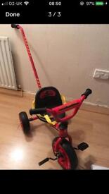 Childrens 3 wheeler trike