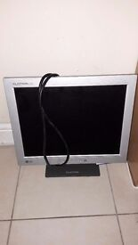 Lg 15 inch monitor and power lead