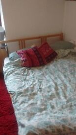 Ikea double bed + amazing mattress. Great condition, quick sale required.
