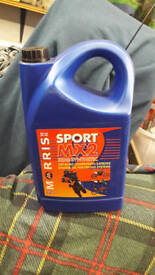 MX2 Competition Sport 2 stroke motorcycle oil 3.5lits Motocross Racing