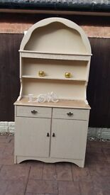 shabby chic oak dresser/sideboard with drawers