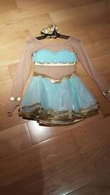 Girls competition ice skating dress