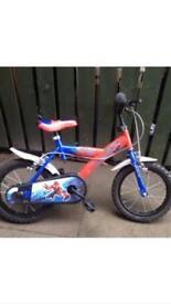 Spider-Man bike